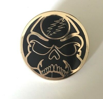 Rick and Morty Pin Mashup Enamel Pin Steal Your Face Grateful Dead Pin