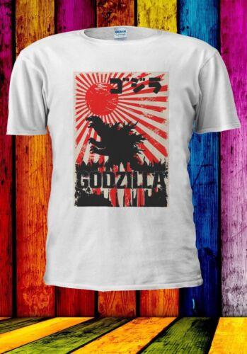 Japonais Godzilla Tokyo ゴジ Hommes Femmes Unisexe T-shirt Débardeur Baseball Sweat à capuche 905