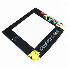 Pokemon Pikachu/Cyndaquil Nintendo Game Boy Color GBC New Screen Plastic