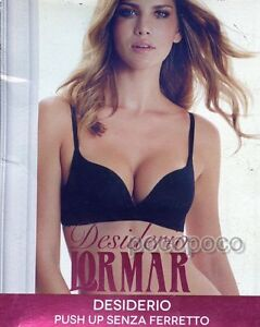 f29df8993d430 Image is loading BRA-PUSH-UP-WITHOUT-UNDERWIRE-MICROFIBRE-LORMAR-ART-