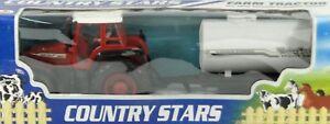 8154-3-Traktor-rot-mit-Fasswagen