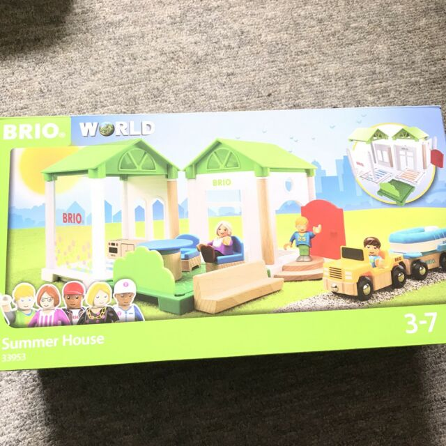 BRIO World Summer House Wooden Playset