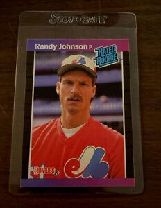 1989 randy Johnson donruss rated rookie birthday error rare card BIG UNIT. HOF💰