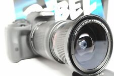 Ultra Wide Angle Macro Fisheye Lens for Canon Eos Digital Rebel  & 18-135mm STM