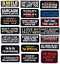 miniature 1 - Biker-Patches-Embroidered-Iron-on-Sew-on-Word-Slogans-Patch-Transfer-Motorcycle