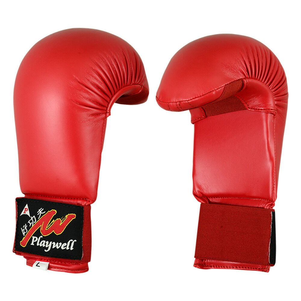 VELO Karate Mitts Sparring Gloves Competition /& Training Martial Arts Punch Bag