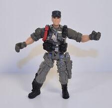"3.75"" Gray Soldier w/ Ball Cap Chap-Mei Action Figure"