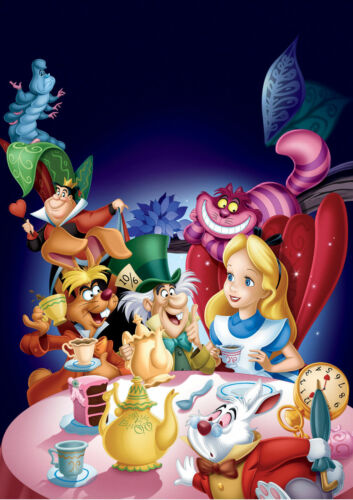 OPTIONS ALICE IN WONDERLAND MOVIE POSTER  A5..A4..A3..A2.