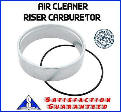 Chevy Air Holley Spacer Bbc Cleaner Fits 5 2 Sbc Aluminum Carburetor Riser UaSwFRqAU