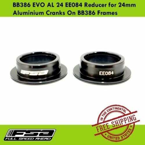 FSA BB386EVO AL 24 EE084 Reducer for 24mm Aluminium Cranks On BB386 Frames