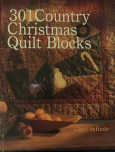 301-Country-Christmas-Quilt-Blocks-by-Mary-Jo-Hiney-and-Cheri-Saffiote-2002