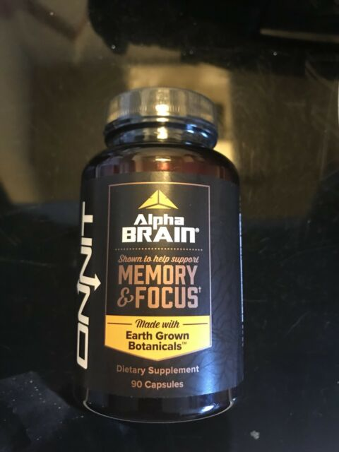 Onnit Labs Alpha Brain MEMORY-FOCUS - 90 caps Free Shipping NEW/SEALED