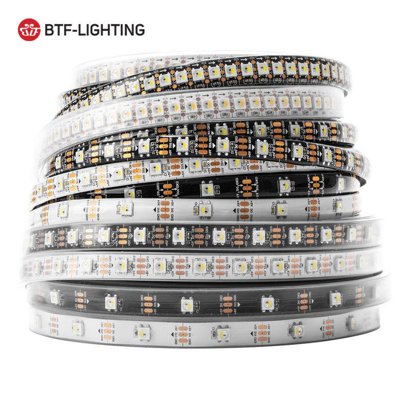 STRISCIA A A A LUCE LED SMD 5050 STRIP 5 METRI 300 LED IMPERMEABILE ESTERNO SK6812 779274