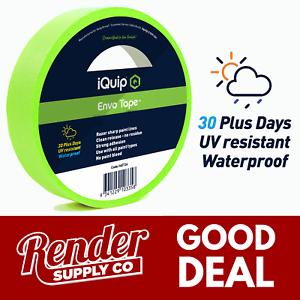 BOX-iQuip-30-day-ENVO-36mm-x-50m-UV-Resistant-Waterproof-Bulk-Masking-Tape-Roll