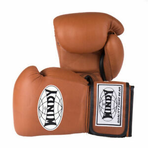*WINDY* BGVH Boxing Gloves Brown 16oz