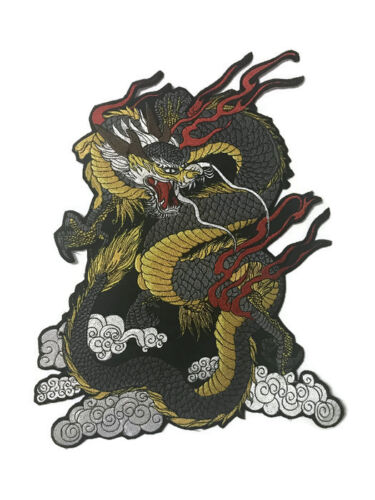 Large Back Patch l Flying Dragon