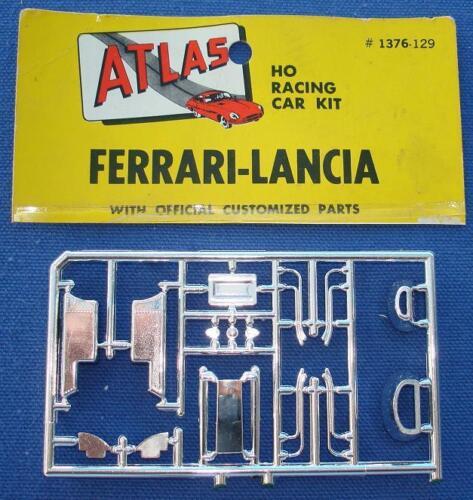 ATLAS HO MOTORING SLOT CAR FERRARI LANCIA KIT #1376 SPRUE SPARE PARTS CHROME