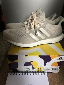 89c55d3b947 Adidas Ultra Boost Cream Chalk Men s Running Shoes Size 12 AQ5559 ...