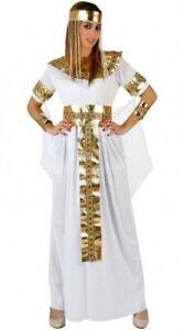 2019 Nouveau Style Déguisement Femme Cleopatre Blanc M/l 40/42 Reine Egypte Adulte Egyptienne Neuf