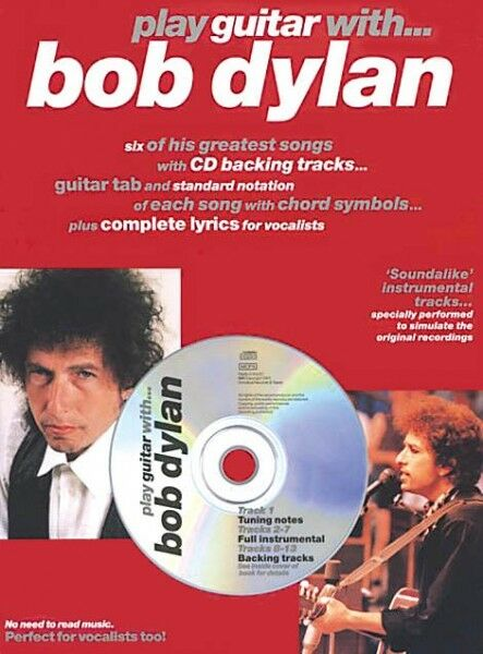 Bob Dylan Sheet Music Piano Play-Along Book and CD NEW 000312057