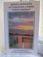 V Antologia Nuevo Milenio : Narración (cuentos) Y Poesía (2004, Paperback, Large