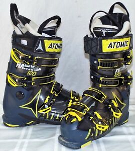 detailed look f7eec bf295 Details about Atomic Hawx 120 Used Men's Ski Boots Size 25.5 #633557