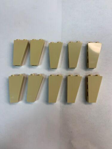 10 New Lego Tan 2449 2x1x3 Inverted Brick