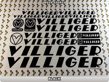VILLIGER Stickers Decals  Bicycles Bikes Cycles Frames Forks Mountain BMX 56Q