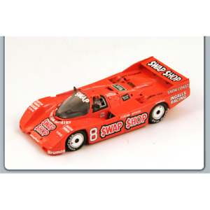 PORSCHE-962-N-8-WINNER-SEBRING-12-HOURS-1985-WOLLEK-FOYT-1-43-Spark-Model