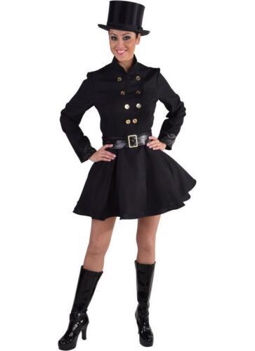 Schornsteinfeger Kostüm Dame Kleid Schornsteinfegerin Kaminfeger Kaminfegerin
