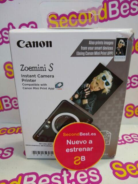 Cámara de fotos instantánea Canon Zoemini S Negra Nuevo