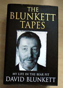 SIGNED David BlunkettThe Blunkett Tapes 11 NFVG - Cardiff, United Kingdom - SIGNED David BlunkettThe Blunkett Tapes 11 NFVG - Cardiff, United Kingdom