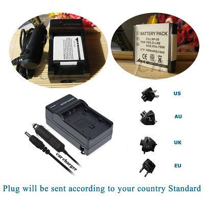 2PCS NP-50A Batería para Fujifilm FinePix F770 F775 F800EXR F900EXR X-F1 X20
