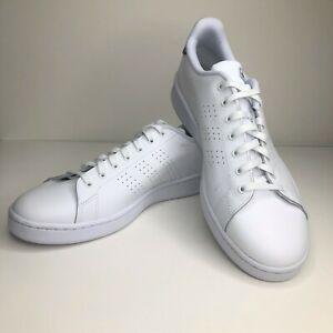 Details about Adidas Advantage Cloudfoam White Navy Blue Superstar, F36423, Size 13