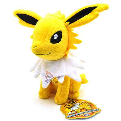 "New 7"" JOLTEON Pokemon Rare Soft Plush Toy Doll/PC2074"