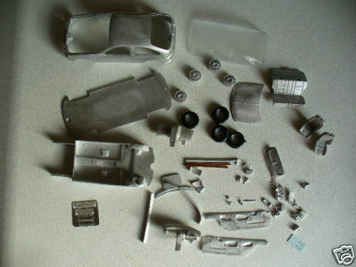 MG ZR 160 3 Door kit by K & R Replicas 1/43rd scale