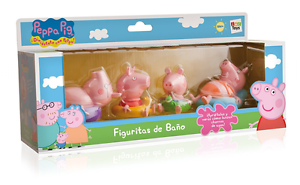 Peppa Pig - Figures for the bath