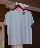 J Jill Seafoam Green Pure Jill Seamed Easy Tee Shirt Top Size Xs
