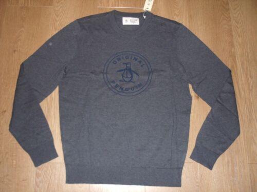 Clair Cercle M Penguin Original Bleu Coton Applique Pull Supima Logo qc8zwPzOXU