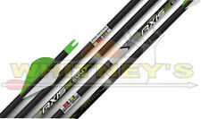 12 Axis Pro Match Grade 5mm 340 Fletched Arrows Blazer Vanes .001 Straightness