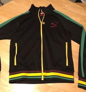 Usain Vintage Top Tracksuit Jamaica Jacket Bolt Medium Puma Rast 0wRPxa0