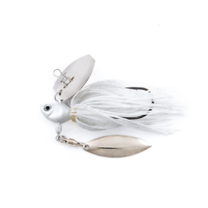 1//4 oz #2000805 Pearl White FISH HEAD Primal Vibe Spinner Bait