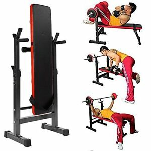 Multi-Station-Weight-Bench-Press-Fitness-Weights-Equipment-Sit-up-Bench-GYM-AU