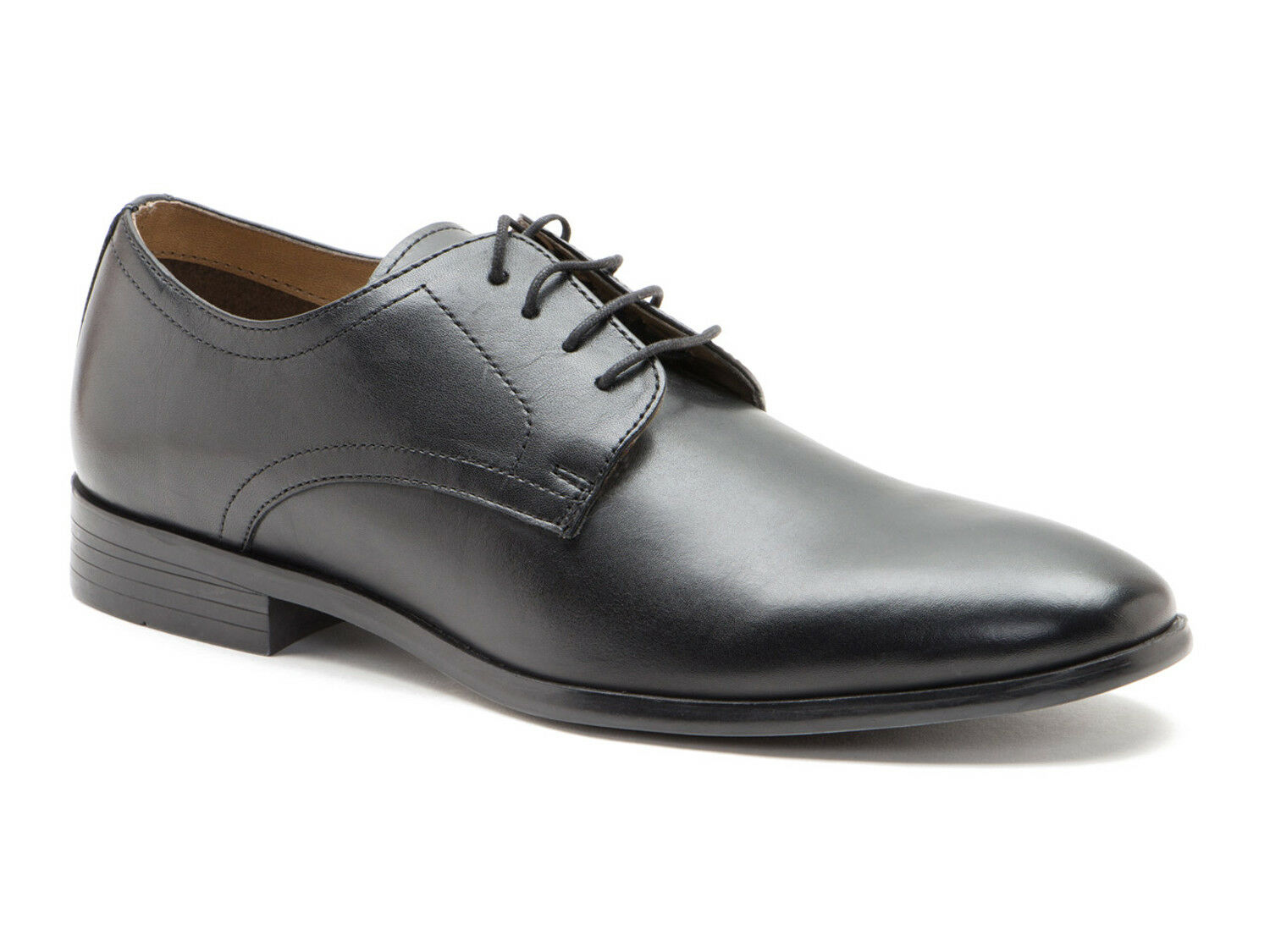 Red Tape SILWOOD Uomo nero pelle formale da Uomo SILWOOD Scarpe da DERBY 65d133
