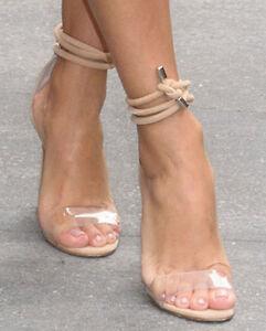 Manolo Blahnik Suede PVC Sandals under $60 online discount free shipping clearance popular XkbTK