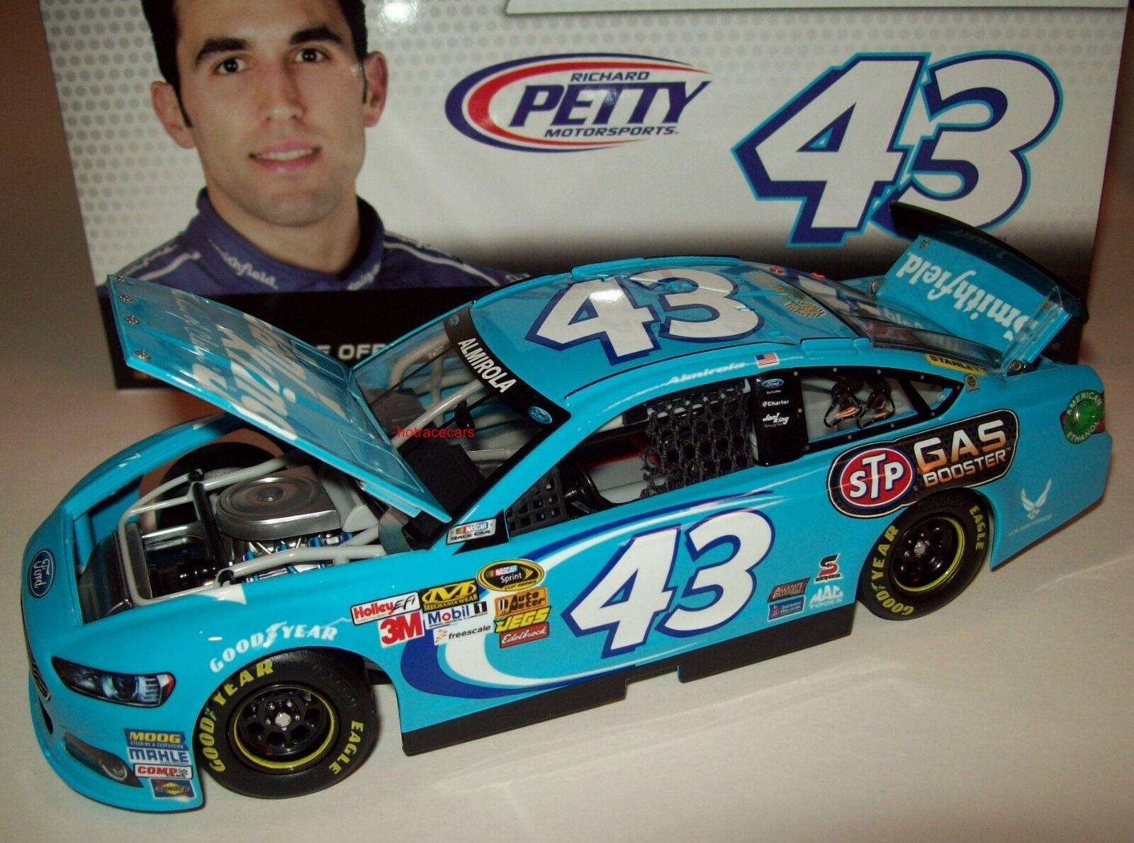 Aric Almirola 2013 Jani King Richard Richard Richard Petty Ford Fusion 1 24 NASCAR Diecast 81ebce