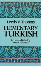 Elementary Turkish (Dover Language Guides) by Lewis V. Thomas