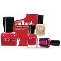 Zoya Nail Polish Redbook Trio Pack
