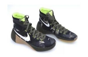 606be59e7f427 Nike Hyperdunk PRM 749567-313 Camo Green Trainers Basketball Shoes ...