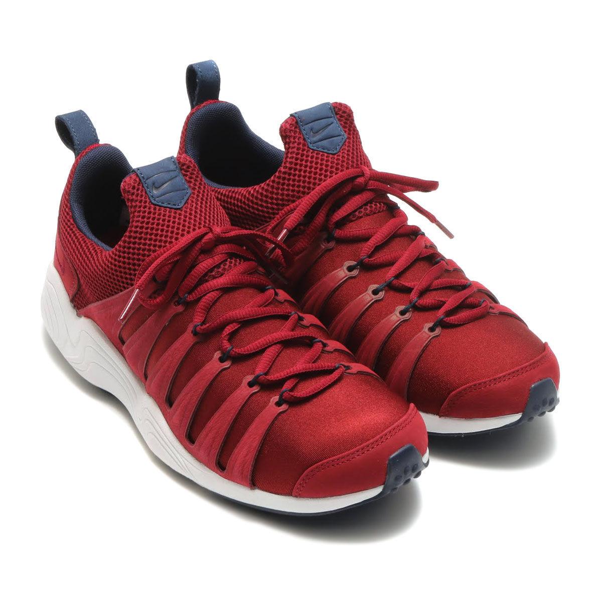 NikeLab Air Zoom spirimic EUR 38.5 Scarpe Da Ginnastica Squadra Rosso Corsa 881983 600